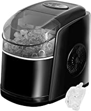 Machine à glaçons, Machine a glaçons 9 Glaçons Par 6 Min, Fenêtre Panoramique Visible, Machine à glace avec pelle à glace ...
