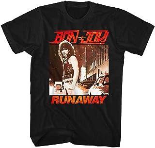 BON JOVI ボン・ジョヴィ (デビュー35周年記念) - RUNAWAY/Tシャツ/メンズ 【公式/オフィシャル】