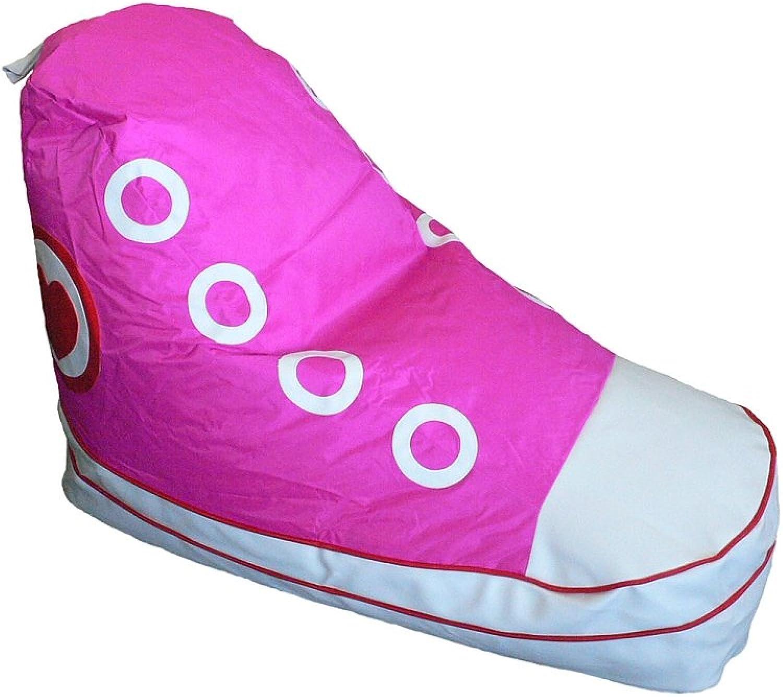Boscoman - Sneaker shoes Beanbag Chair - Pink (BOX L)