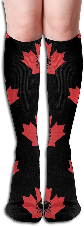 Bargain Albanian Flag Canada Maple Leaf Phoenix Mall Socks Athletic So Men Women for