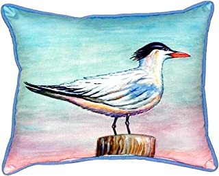 "Betsy Drake SN951 Royal Tern Small Indoor/Outdoor Pillow,,11"" X14"""
