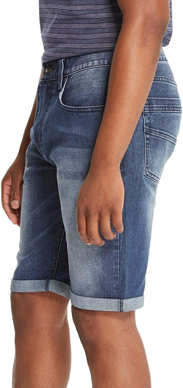GUESS Factory Jerry Rolled Denim Shorts