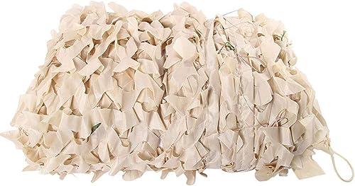 ZHhome Camouflage Auvent Auvent écran Solaire Maille Renforcé Tissu Oxford 3 × 5m Tente, Barrière De Jardin Enfants Chambre Plafond Décoration en Plein Air Camping Brun ( Taille   610M(19.732.8ft) )