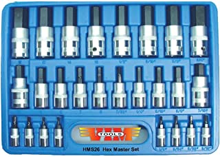 Vim Tools HMS26 Master Hex Driver Set - 26 Piece