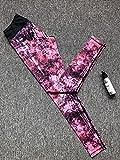 ArcherWlh Leggings Mujer Push Up,Nuevo Pantalones de Fitness de Yoga de Estampado Digital Europeo Nuevo NO Muestra Mujer DE LOS Pantalones DE Yoga DE CINCIENCIAS Blancas-Arce_S