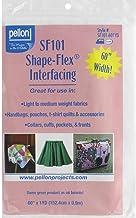 Pellon SF101-601YD PELSF101.601YD Shape-Flex 100% Cotton Wht