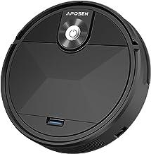 Robot Vacuum Cleaner, APOSEN Robotic Vacuum Tangle-Free Suction, Smart Automatic Self-Charging Vacuum Robot, Ultra Quiet a...