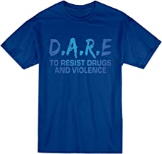 VOTANTA to Resist Drugs and Violence T-Shirt Dare 90s Drugs Shirt