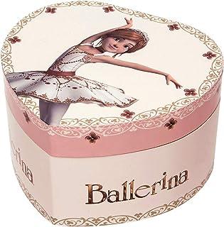 TROUSSELIER - Ballerina le Film - Boîte à Bijoux Musicale - Idéal Cadeau Jeune Fille - Phosphorescent - Brille dans la nui...