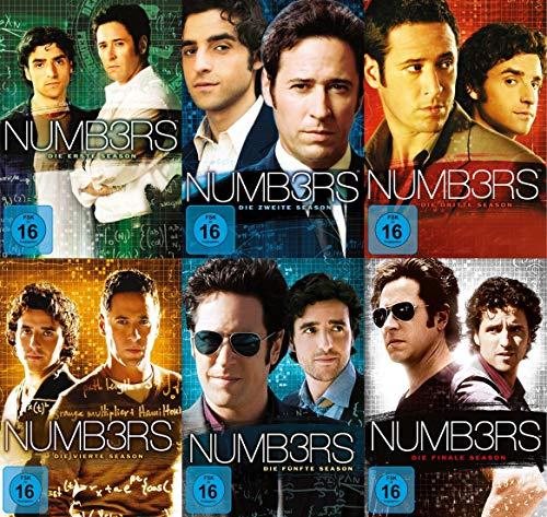 Numb3rs (Numbers) - Staffel 1-6 - Die komplette Serie im Set (31 DVDs)