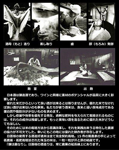 日置桜純米大吟醸強力しずくさく羅(さくら)720ml年間600本限定日本酒鳥取地酒プレゼント用におすすめ