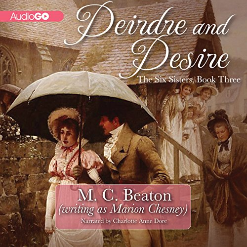 Deirdre and Desire audiobook cover art