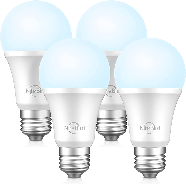 NiteBird Smart Light Bulbs It is very popular Compatible Outstanding and with Google Alexa Home