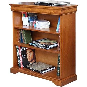 Tidyard Libreria a 3//4 Ripiani in Pino Corona Range Grigio//Bianco,Libreria Bianca,Libreria Moderna,Libreria Soggiorno 81x29x150 cm//81 x 29 x 100 cm