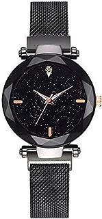 Product Mart Women Wrist Watch Magnetic Buckle Stainless Steel Mesh Belt Quartz Watches Ladies Bracelet Watch for Women
