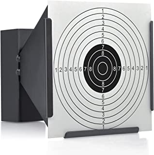 14CM FUNNEL TARGET HOLDER + 100 TARGETS AIR RIFLE PELLET TRAP SHOOTING AIRSOFT GIFT