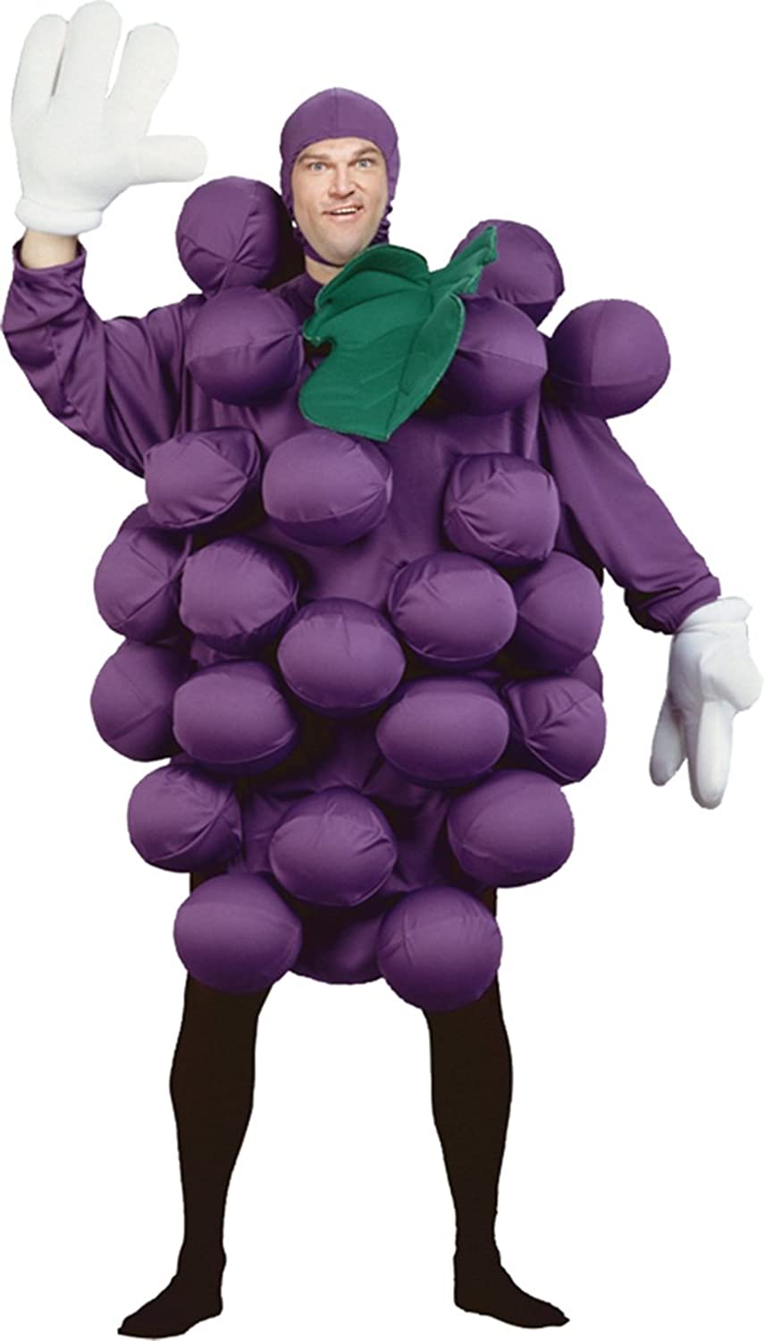 Peter Alan, Inc  Costume Mates Purple Grapes Adult Costume Size Standard OneSize
