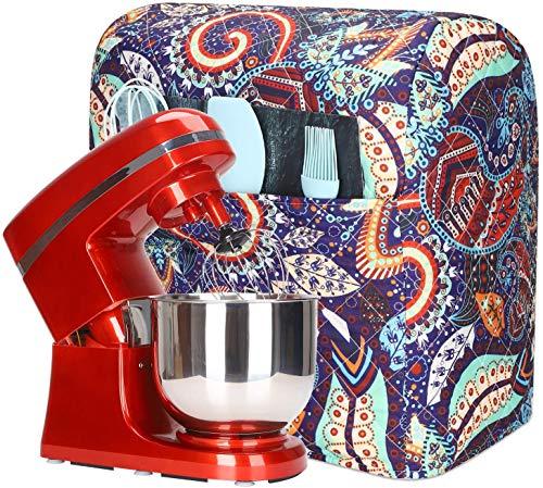 Ständer-Mixer-Abdeckung, staubdicht, Küchenhelfer, Mischerabdeckungen, Wasserdichter Küchenorganizer Tasche mit Aufbewahrungstasche Color #B