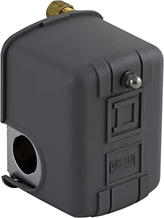 Amazon.com: Square D by Schneider Electric 9013FHG52J59X Air-Compressor  Pressure Switch, 175 psi Set Off, 40 psi Fixed Differential, 1/4
