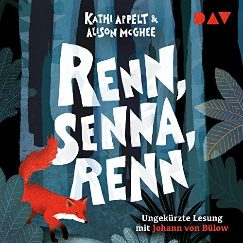 Renn, Senna, renn audiobook cover art