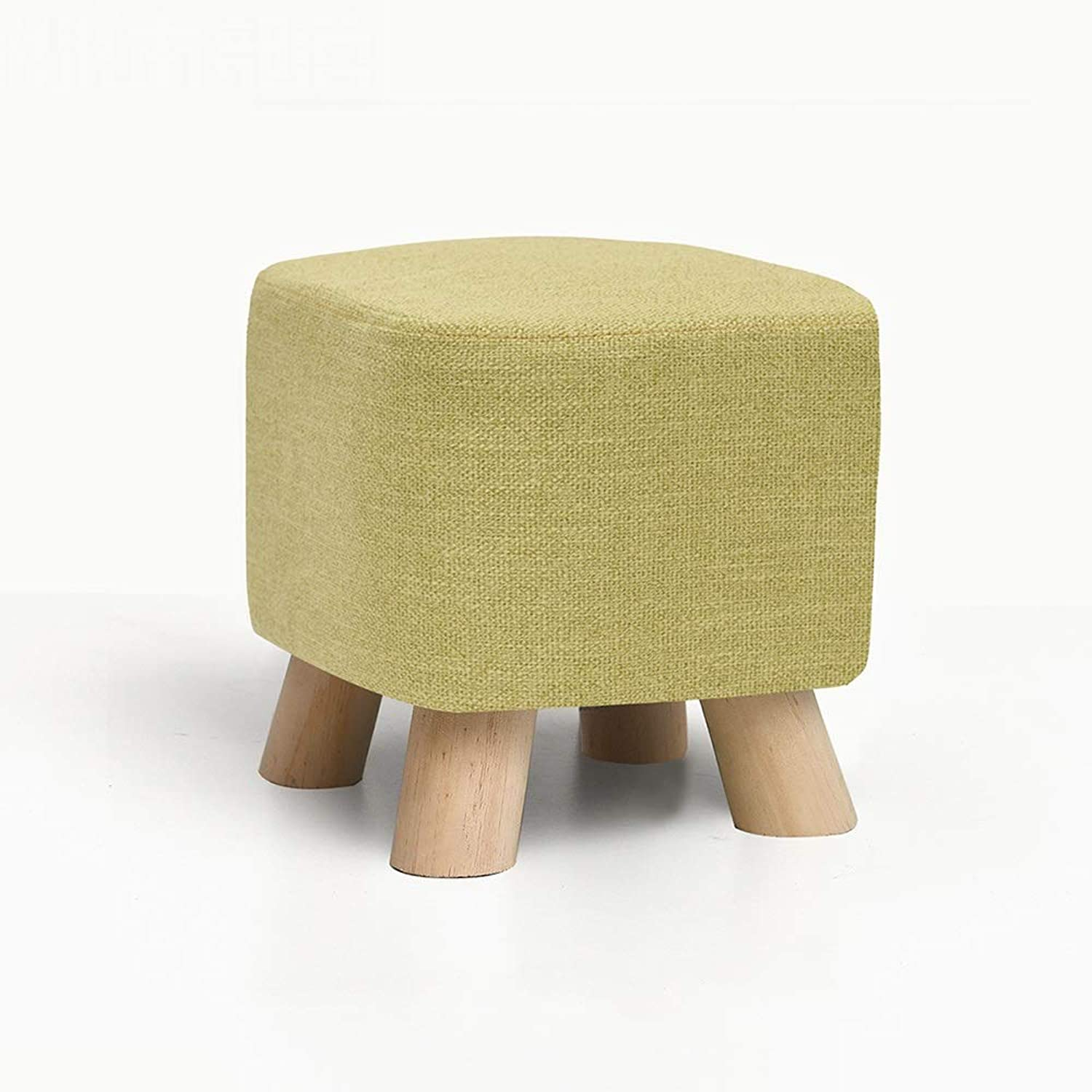 YQQ Change The shoes Bench, Dressing Stool Sofa Stool Makeup Stool Low Stool Wooden Bench (color   2)