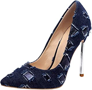 Zanpa Fashion Women Shoes Stiletto High Heels Pumps Slip On