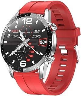 smartwatch ECG+PPG L13 IP68 wodoodporny smartwatch Bluetooth połączenie mężczyźni pulsometr monitor snu kobiety sport inte...