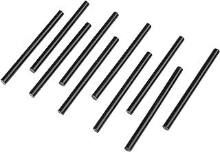 Black Hot Glue Sticks, 7mm x 100mm Hot Melt Glue Gun Sticks for 100w Glue Gun, 10Pcs