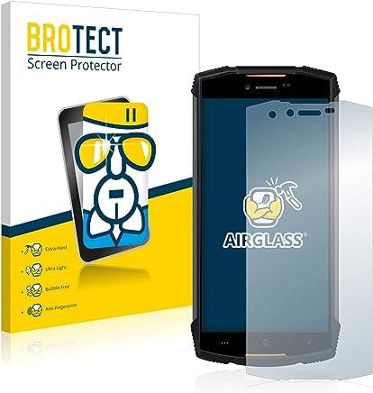 BROTECT Protector Pantalla Cristal para Doogee S55 - Cristal Vidrio 9H, AirGlass