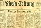 RHEIN-ZEITUNG, I. JAHRGANG, Nr. 31, 1 JULI 1946