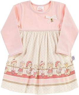Body Rosê Bebê Menina Cotton 111034-11