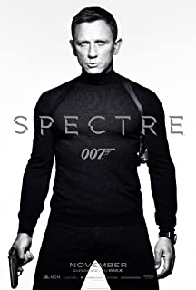 SPECTRE MOVIE POSTER 1 Sided ORIGINAL MINI SHEET 11x17 DANIEL CRIAG JAMES BOND