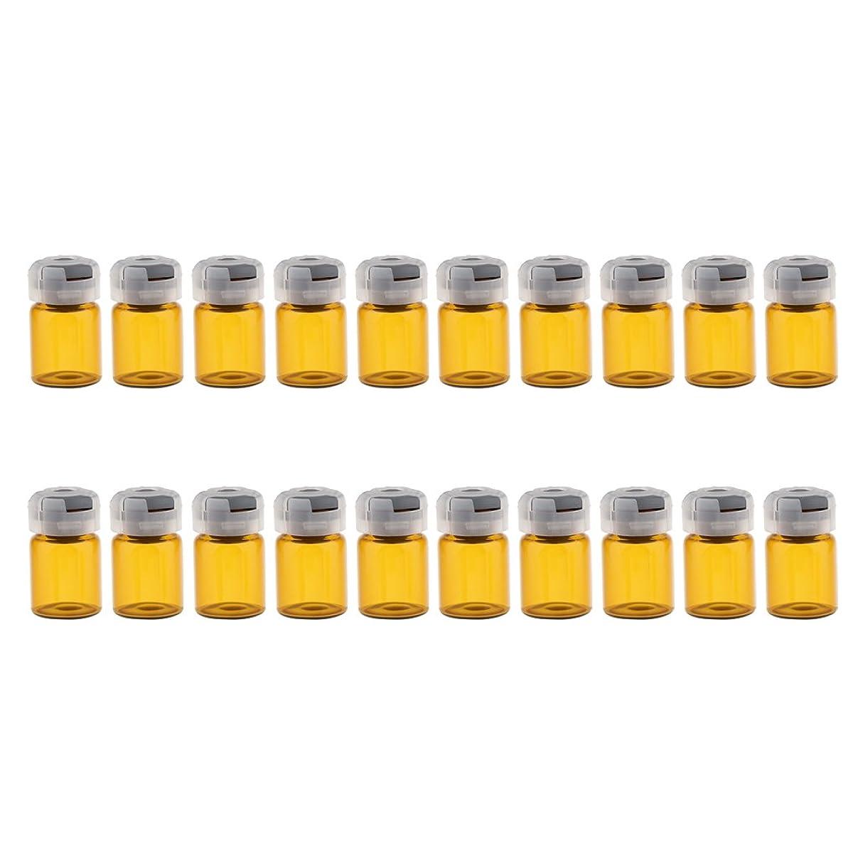 データパール落ちたSharplace 空 バイアル 密封 滅菌バイアル ガラス 液体容器 約20個 全3サイズ - 5ml