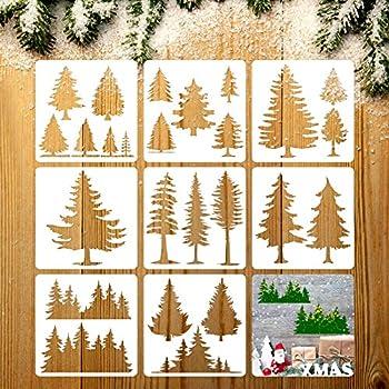 Best pine tree stencil Reviews