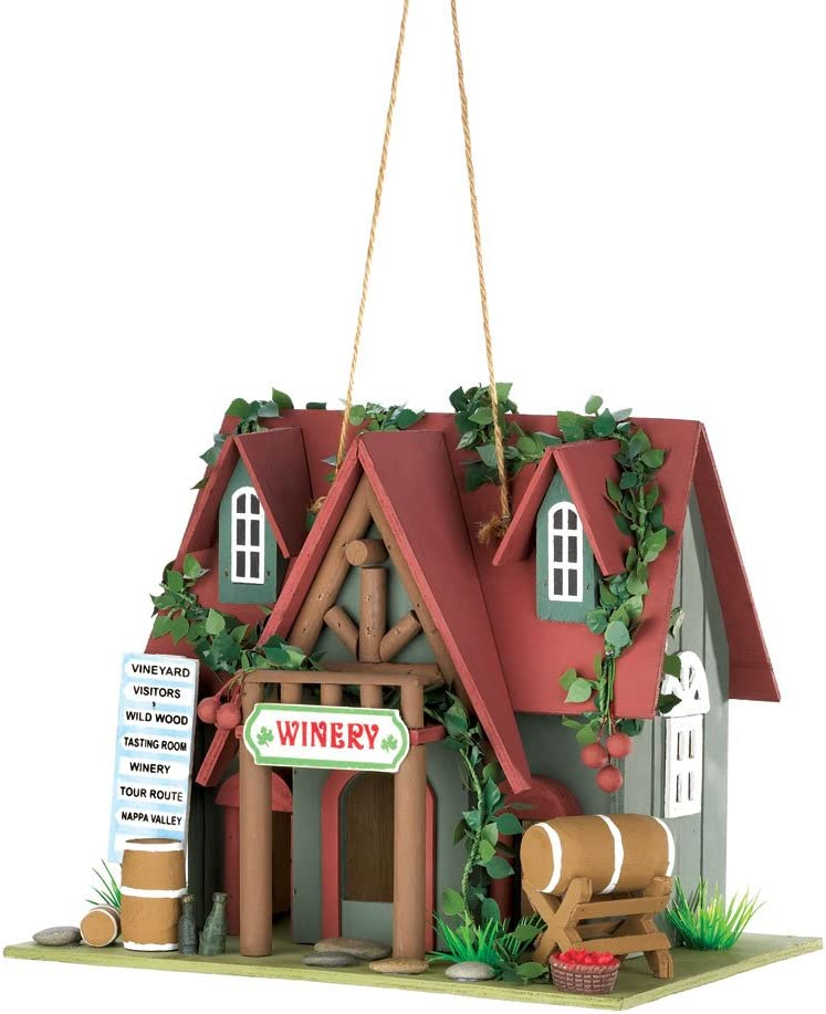 Super beauty product restock quality top Popular products Wine Tasting Birdhouse