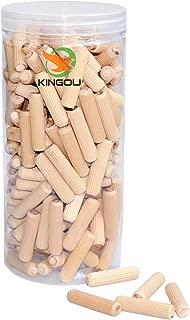 KINGOU Wood Dowel Pins Standard 3/8