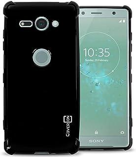 Sony Xperia XZ2 Compact Case cover, coverON, Soft Gel TPU Skin Fit Case, Black