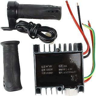 Motor Brushed Speed Controller /& Batterieanzeige Gasdrehgriff mit Feststellgriff /& Power Display f/ür E-Bike