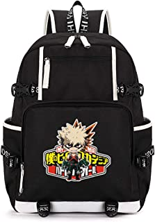 My Hero Academia College School Student Women Men Bag Laptop Backpack