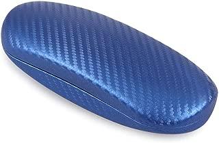 テーシーケース メガネケース ハード ブルー HY-648B-12