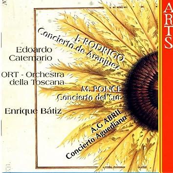 Rodrigo / Ponce / Abril: Guitar Concertos