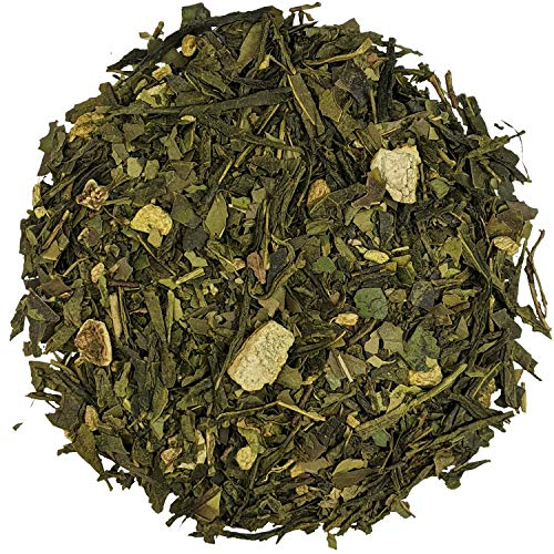 Simpli-Special High Energy Green Tea Loose Leaf   Caffeine Packed Tea with Match, Yerba Mate, Chlorella Algae Powder   Natural Healthy Coffee Replacement   Enjoy Hot or Iced   100g in Resealable Pouch