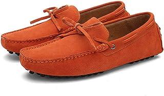 Hommes Mocassins en Daim Penny Loafers Casual Bateau Chaussures De Ville Flats Slip-on Chaussures Conduire Une Voiture Gli...