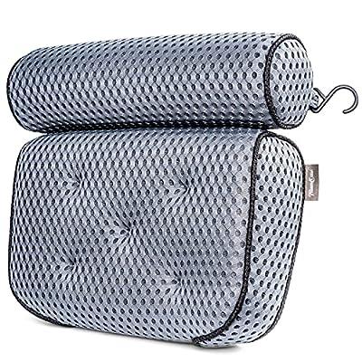TraumOase® Badewannenkissen in grau