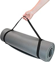 Yoga Mat, 10Mm Extra Thick Yoga and Pilates Mat, Environmentally Textured Non-Slip Surface and Best Cushioning, High-Densi...