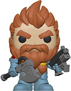 Funko FU38327 POP! Games #502 Warhammer 40K: Space Wolves Pack Leader Action Play Figure