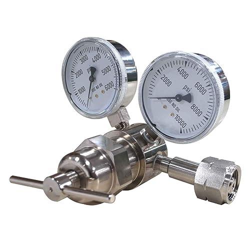 Miller Smith 827-0027 High Pressure Nitrogen Regulator Ultra Purging 6