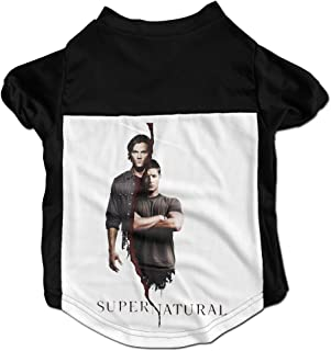 TOMM Cute Supernatural Sam Dean Winchester Bros Clothing For Dog & Cat