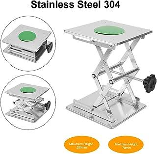 Plataforma Elevadora Tijera,Plataforma Elevadora de Laboratorio de Acero Inoxidable SS304,Resistente a la