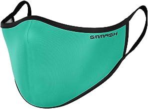 SMMASH Gezichtsmasker, Herbruikbaar, Hoogwaardig Gezichtsmasker Wasbaar, Stofmaskers, Multifunctioneel, Adembeschermingsma...